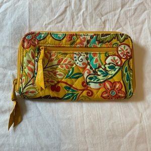 Vera Bradley Yellow Wallet
